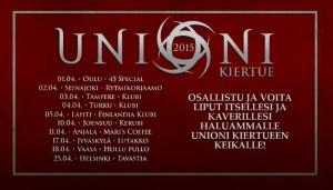 Unioni kiertue 2015 kilpailun voittaja