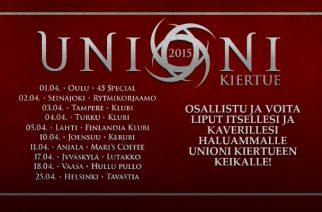 Unioni kiertue 2015