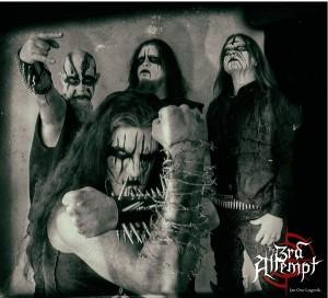 Carpathian Forestin jäsenten uusi yhtye The 3rd Attempt studioon huhtikuussa