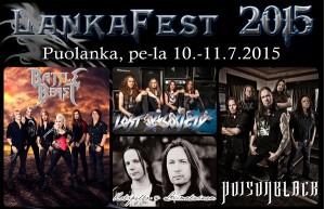 Lankafestin aikataulu julki