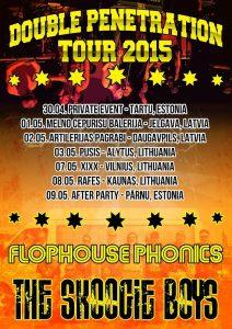 The Skoogie Boys ja Flophouse Phonics yhteiskiertueelle Baltiaan
