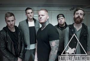 Failure Anthem kiinnitetty Razor & Tie Recordsille