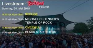 Mietitkö tekemistä sunnuntai-illalle? Miten olisi Overkillin keikka striimattuna Rock Hard -festarista?