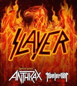 Slayer Anthrax 2015