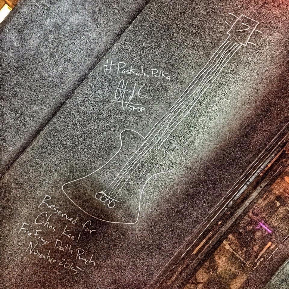 Five Finger Death Punch Chris  Kael - The Riff