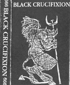 Black Crucifixion - The Fallen One of Flames