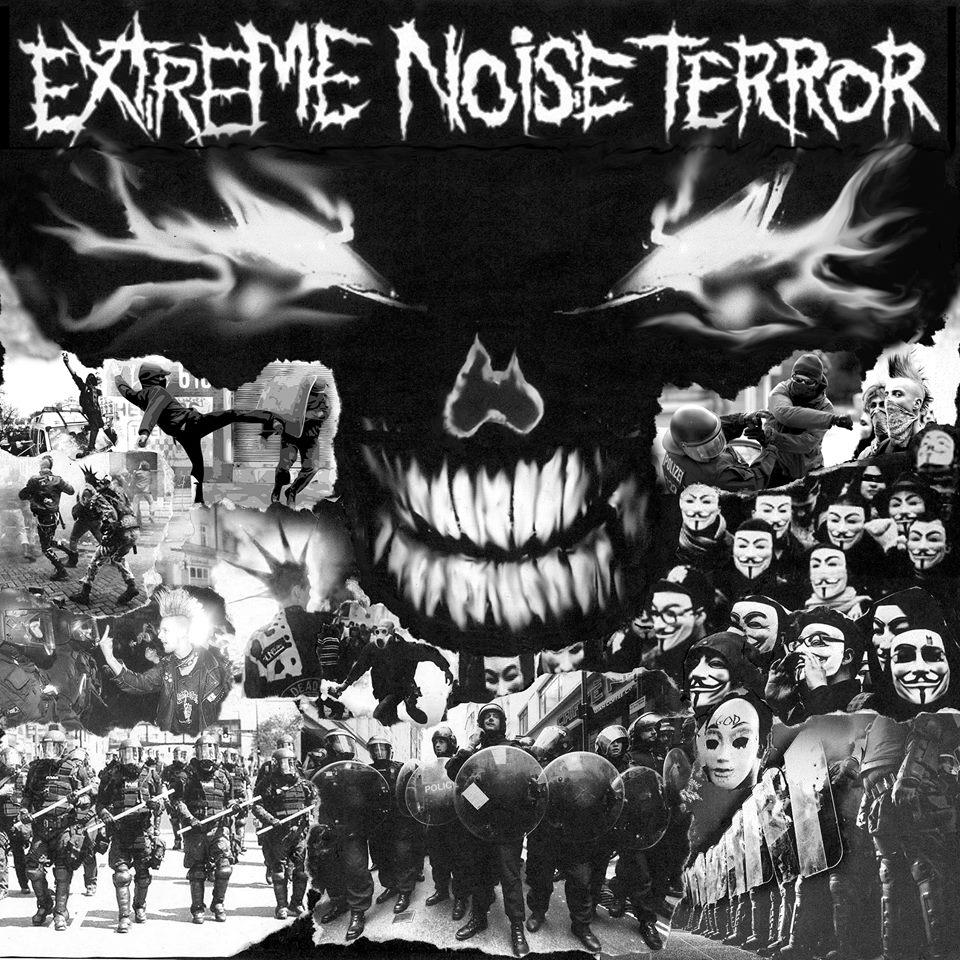 Extreme Noise Terror - kansi