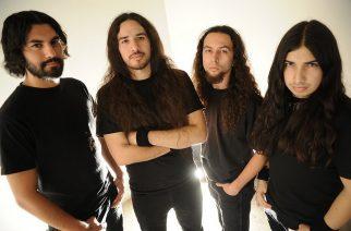 Exmortus studiossa nauhoittamassa uutta albumia: mukana Warbringerin rumpali ja kitaristi