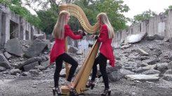 """Tältä kuulostaa Metallican """"One"""" harpulla soitettuna"""