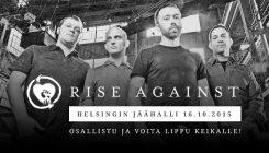Rise Against skaban voittajat valittu