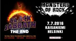 Black Sabbath jäähyväiskiertueellaan Suomeen heinäkuussa