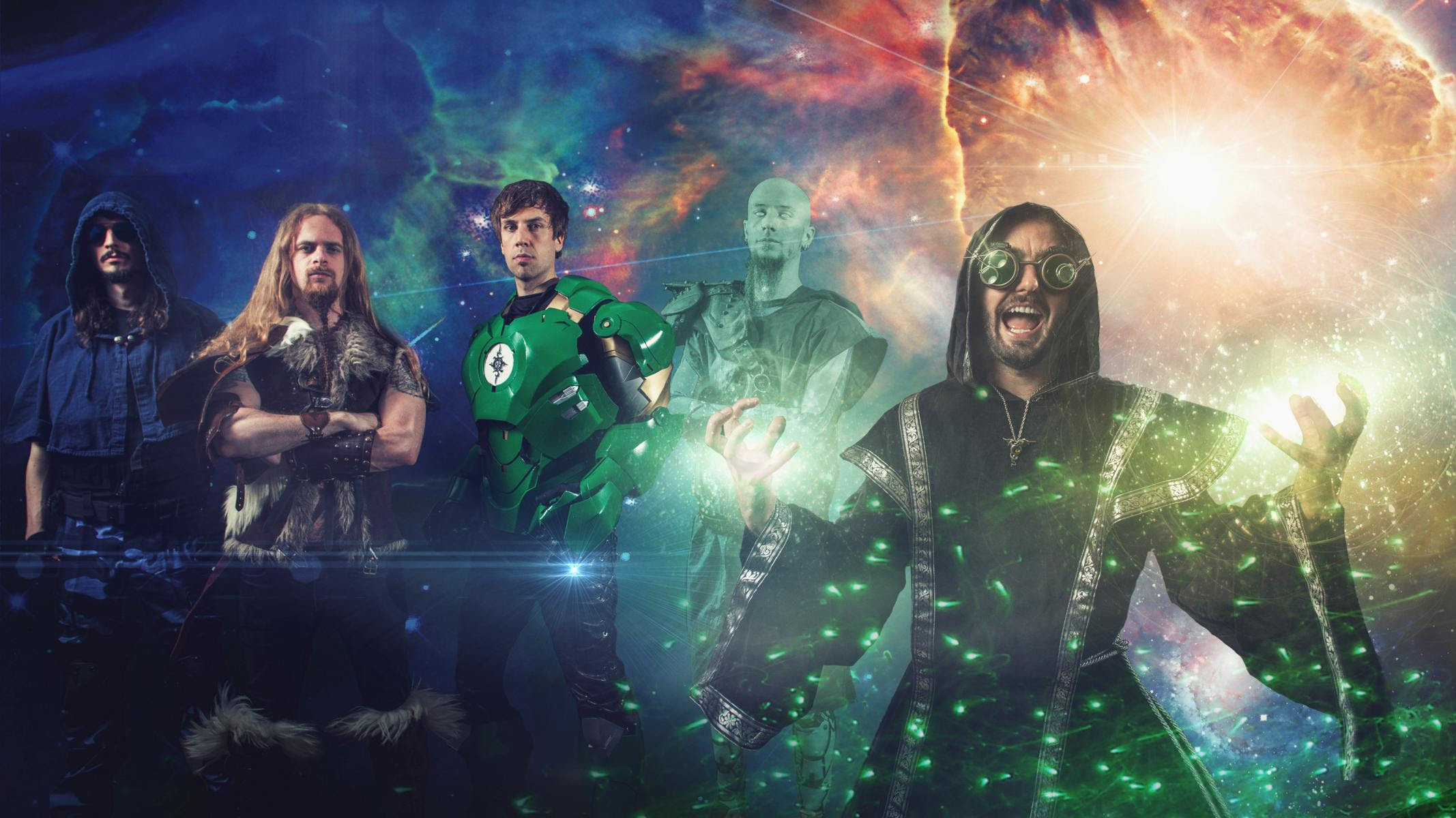 """Gloryhammer julkaisi sankarillisuutta tihkuvan uuden musiikkivideon kappaleelleen """"Gloryhammer"""""""