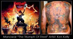 10 tatuointia, joiden inspiraationa on albumin kansi