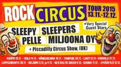 Rock Circus -kiertue kiertää Suomea marraskuussa