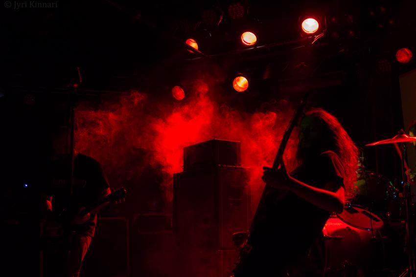 Ufomammut & Suma @ Klubi, Tampere 18.10.2015