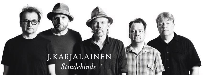 J. Karjalaisen uudelta levyltä julkaistiin ensimmäinen single