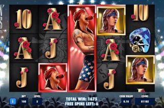 Guns 'n Roses -kolikkopeli: suuria tunteita ja upeita kappaleita
