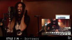 Mies tulkitsee Adelea 25:lla eri laulutyylillä: mukana mm. System Of A Downia, Dimmu Borgiria, Guns N' Rosesia sekä Deftonesia