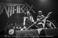 Anthrax, Gojira sekä Mantar Tuskaan