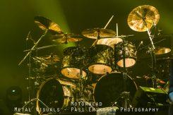 Motörheadin Mikkey Dee soitti ensimmäisen rumpusoolon sitten Lemmyn kuoleman: ohessa videomateriaalia kyseisestä vedosta