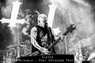 Slayer hoiti työnsä mallikkaasti Hartwall Areenalla