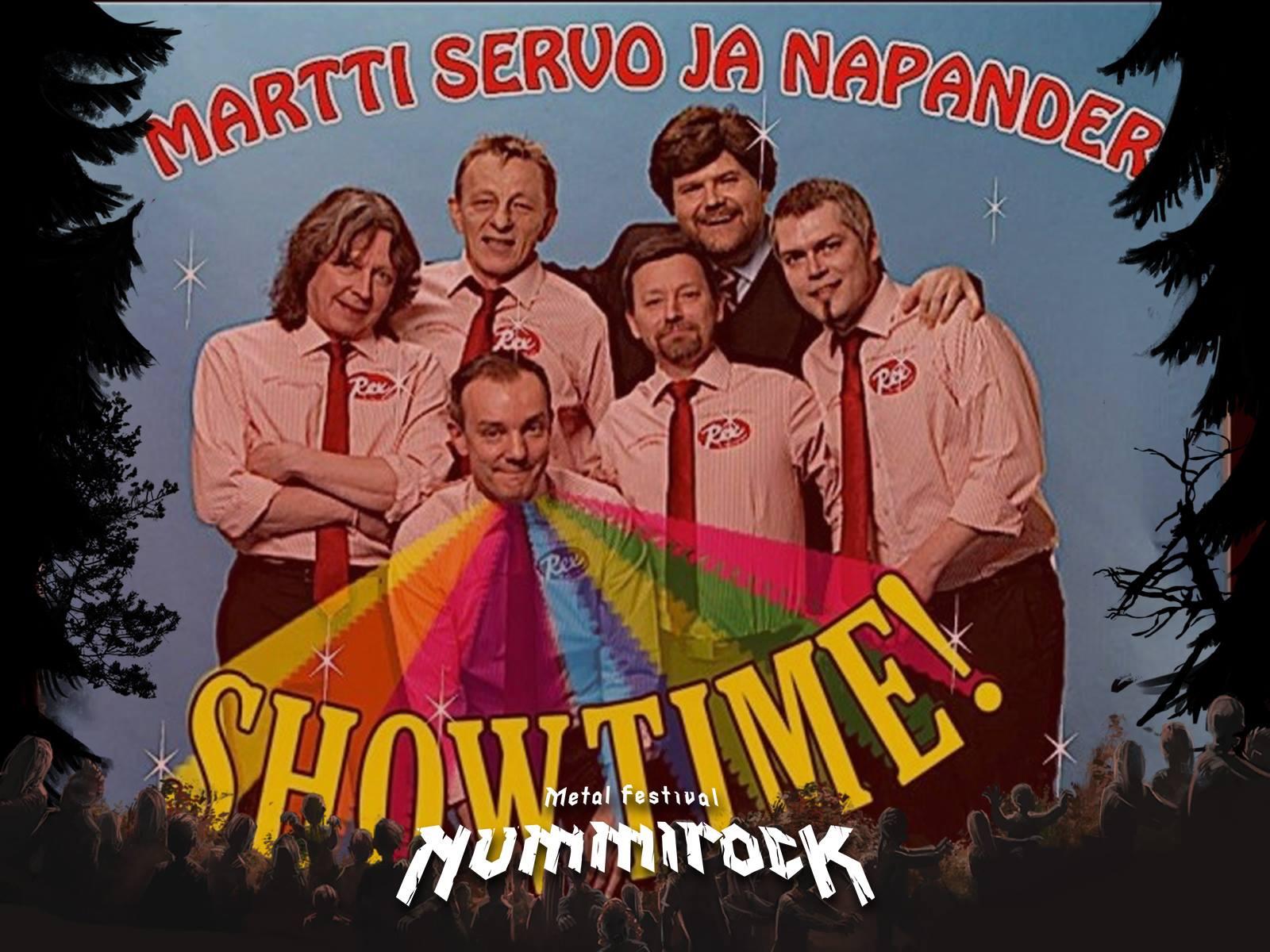 Martti Servo ja Napander lisätty Nummirockin esiintyjäkaartiin