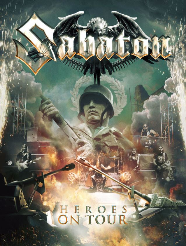Sabaton – Heroes on Tour (live-DVD)