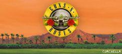 Nyt se on varmaa: Guns N´Roses esiintyy Coachella festivaalissa