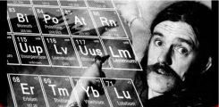 Motörheadin fanit yrittävät saada nimettyä uuden raskasta metallia sisältävän alkuaineen Lemmy Kilmisterin mukaan