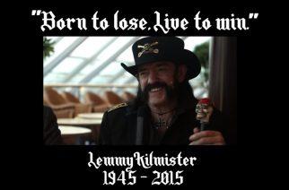 """Slash kommentoi Lemmyn kuolemaa: """"Maailma ei ole enää sama ilman häntä"""""""