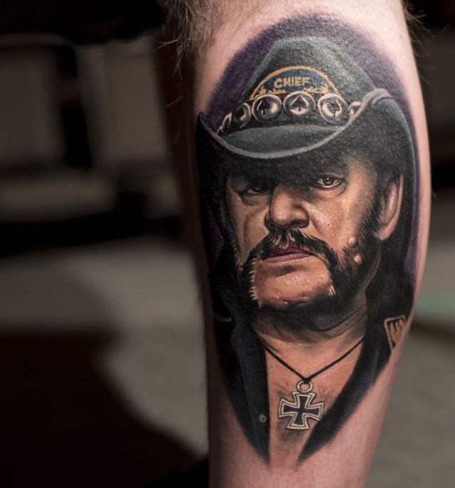 Lemmy tatuointi 2016