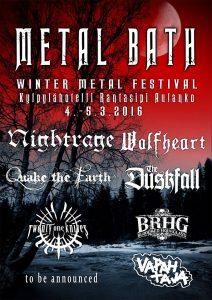 Metal Bath 2016