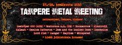 Ensimmäistä kertaa 17.-18. kesäkuuta Tampereella Ratinanniemessä järjestettävä Tampere Metal Meeting julkaisi nipun uusia esiintyjiä
