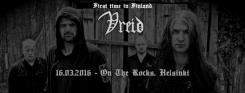 Norjalainen black metal -yhtye Vreid ensimmäistä kertaa Suomeen