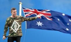 Adressi Parkway Driven kappaleen vaihtamiseksi Australian kansallislaulun tilalle