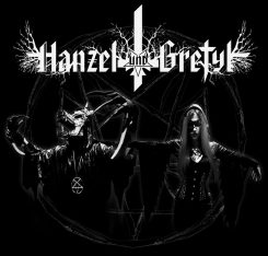 Industrial metal -duo Hanzel und Gretyl (USA) Suomeen