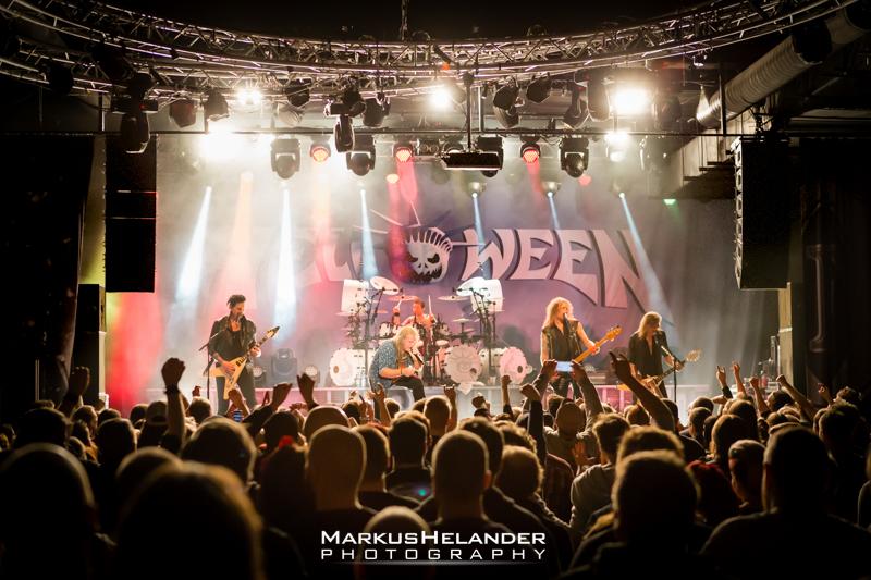Saksalaisen power metalin lippulaiva Helloween villitsi The Circuksessa: katso Markus Helanderin kuvagalleria yhtyeen keikalta