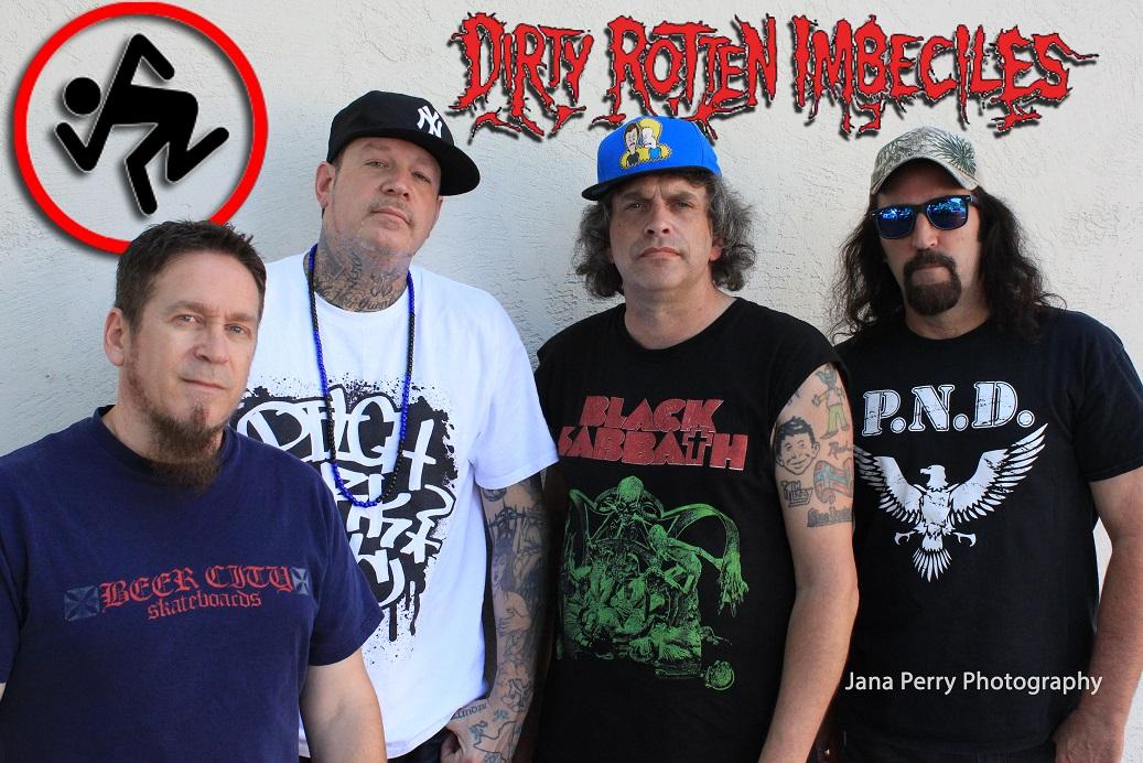 Dirty Rotten Imbeciles viimeistelee uutta EP:tä