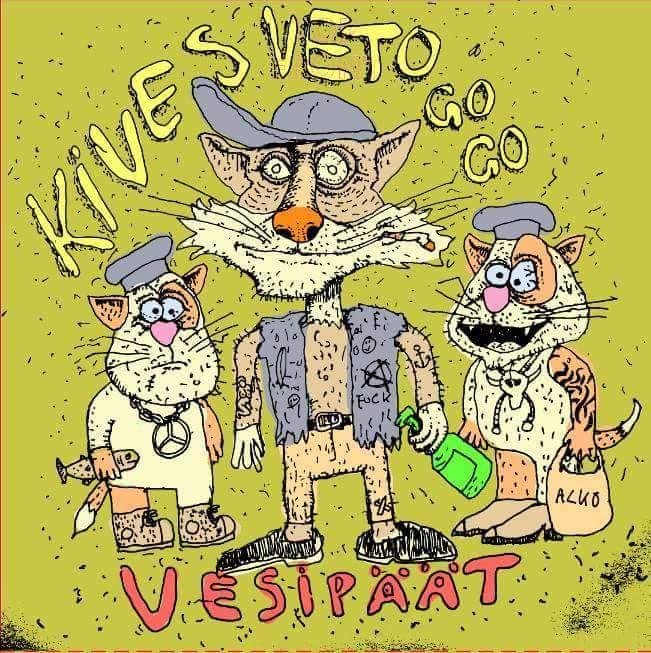 Kivesveto Go Go julkaisi uuden kappaleen