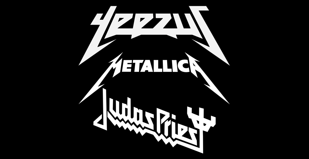 yeezus-metallica-judas-priest-logos