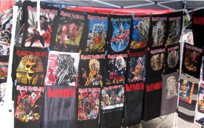 Iron Maiden haastoi piraattituotteiden nettimyyjät oikeuteen