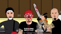 Cooking Hostilen tuoreessa jaksossa Phil Anselmo laittaa moottorisahalla Limp Bizkitin Fred Durstin naaman uuteen uskoon