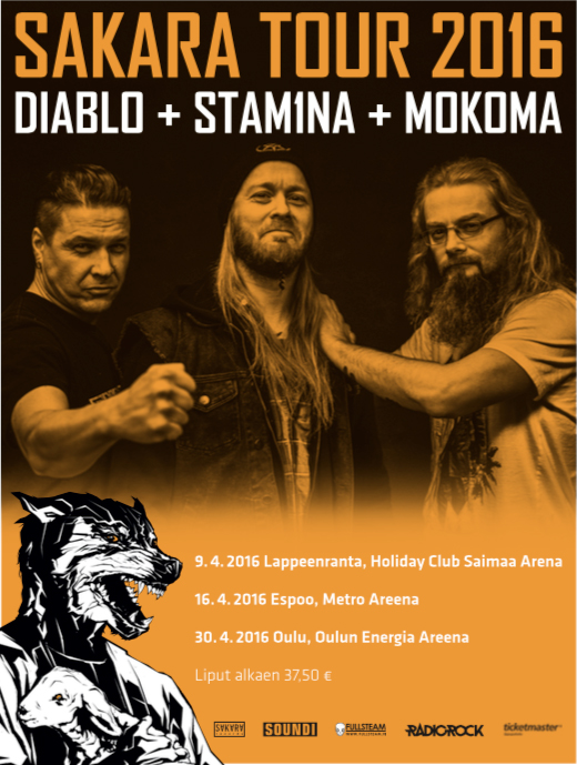 Sakara Tour 2016