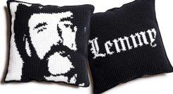 Virkkaaminenkin voi olla rock: näin virkkaat itsellesi oman Lemmy -tyynyn