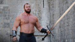 Näin rauta saa kyytiä Game Of Thronesin tähden The Mountainin treenatessa metallimusiikin tahtiin