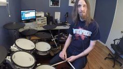 Soilworkin rumpali Dirk Verbeuren tuuraa Chris Adleria tulevilla Megadethin keikoilla