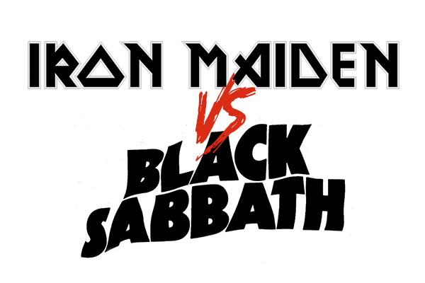 Kaaoszinen kesämittelö: Iron Maiden vs. Black Sabbath