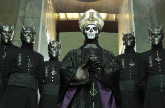 """Ghostin Nameless Ghoul valottaa yhtyeen historiaa: """"Meillä on ollut yhteensä kymmenen kokoonpanomuutosta"""""""