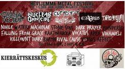 HeviJemma Metal Festival lähestyy -kaksi päivää kotimaisen undergroundin juhlaa