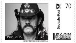 Saksan posti kunnoittaa Motörheadin Lemmyn poismenoa: julkaisee miehestä postimerkin